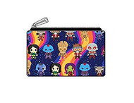 Flap Wallet Marvel Guardians of the Galaxy Chibi Print mvwa0098