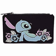 Flap Wallet Lilo and Stitch Stitch Satin wdwa1112