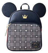 Mini Backpack Kingdom Hearts Mickey Convertible wdbk0932