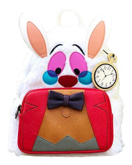 Mini Backpack Alice In Wonderland White Rabbit wdbk0478