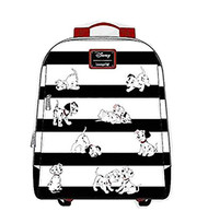 Mini Backpack 101 Dalmatians Striped wdbk0938