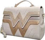 Hand Bag Wonder Woman Gold Cross Body Bag dcctb0003
