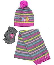 Beanie Cap My Little Pony Glimmer Trio Scarf & Gloves Set 742294