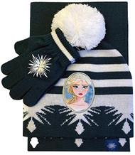 Beanie Cap Disney Frozen II Elsa Scarf & Gloves Set 918330