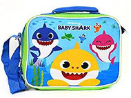 Lunch Bag Pink Fong Baby Shark Playing Blue BBLUNCH