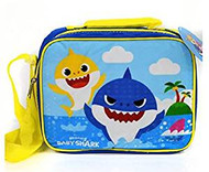 Lunch Bag Pink Fong Baby & Daddy Shark BSHARL