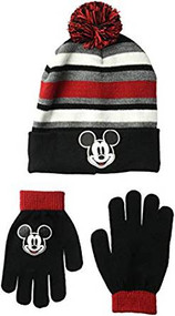 Beanie Cap Disney Classics Mickey Mouse w/Gloves Set 701396