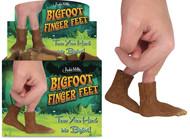 Character Goods Archie McPhee Bigfoot Finger Feet 12870