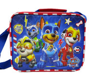 Lunch Bag Paw Patrol Mighty Action Blue 008457