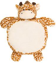 "Play Mat Kelly Baby Giraffe 35"" Belly Blanket Plush B1293GR"
