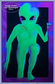"""Poster Alien Flocked Blacklight 24""""x36"""" Wall Art bl1931"""