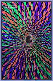 """Poster Andromeda Poster Flocked Blacklight 24""""x36"""" Wall Art bl1964"""