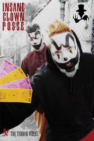 "Poster Icp The Terror Wheel 24""x36"" Wall Art p9265"