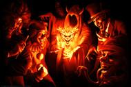 "Poster Icp Joker Gathering 24""x36"" Wall Art p8755"