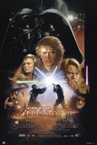 "Poster Star Wars 3 Revenge Of Sith  24""x36"" Wall Art p8475"