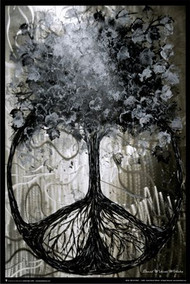 """Poster Studio B Roots Of Peace  24""""x36"""" Wall Art p7726"""