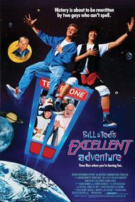 "Poster Studio B Bill & Ted�S Excellent Adventure Key Art 24""x36"" Wall Art p6150"