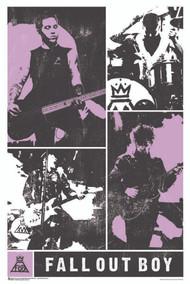 "Poster Studio B Fall Out Boy Panel 24""x36"" Wall Art p0840"