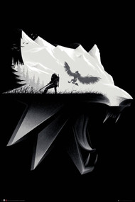 """Poster The Witcher Open World 24""""x36"""" Wall Art p4834"""