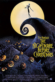 """Poster Nightmare Before Christmas One Sheet 24""""x36"""" Wall Art p4306"""