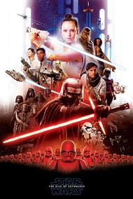 "Poster Star Wars Rise Of Skywalker Epic 24""x36"" Wall Art p3453"