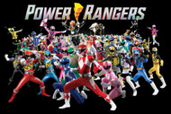 "Poster Studio B Power Rangers Group 24""x36"" Wall Art p1779"