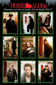 "Poster Studio B Home Alone Bandits 24""x36"" Wall Art p1749"