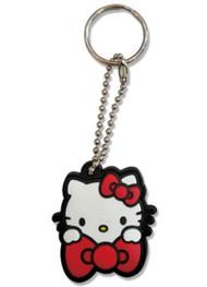 Key Cap Hello Kitty Big Red BowPVC ge48218