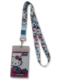 Lanyard Hello Kitty Rainbow White ge38107