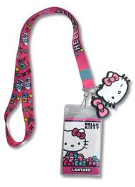 Lanyard Hello Kitty Pink ge38105