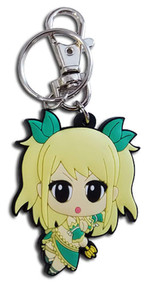 Key Chain Fairy Tail S8 Sd Lucy PVC ge48174