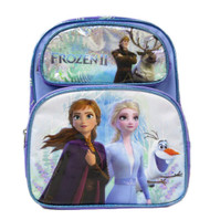 """Small Backpack Frozen 2 Magical Nature Purple 12"""" 008723"""