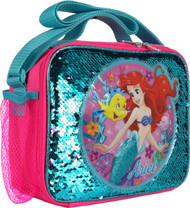 Lunch Bag The Little Mermaid Ariel Reverse Sequins 008594