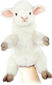 "Hand Puppet Hansa Lamb 11"" 7340"
