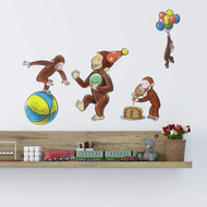 Wall Decal Curious George Storybook Peel/Stick