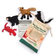 Finger Puppet Folkmanis Great Smoky Mountain  Animal Set 2784
