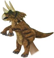 "Hand Puppet Hansa Triceratops 17"" 7759"