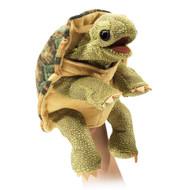 Hand Puppet Folkmanis Tortoise Standing 3156