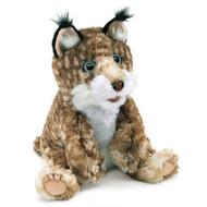 Hand Puppet Folkmanis Bobcat Kitten 3158