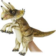 "Hand Puppet Hansa Triceratops 17"" 7764"
