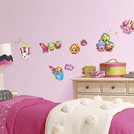 Wall Decal Shopkins I Love SPK Peel/Stick
