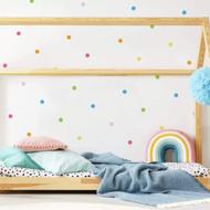 Wall Decal Roommates Pastel Dot Peel/Stick