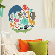 Wall Decal Roommates We Are One Animal Peel/Stick