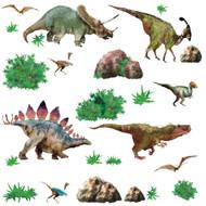 Wall Decal Roommates Dinosaur Peel & Stick
