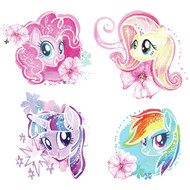 Wall Decal My Little Pony The Movie Watercolor Peel/Stick