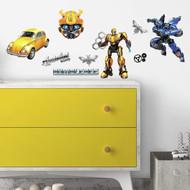 Wall Decal Transformers Bumblebee Peel/Stick
