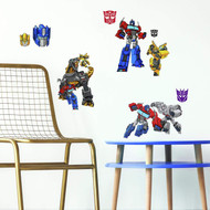 Wall Decal Transformers Cyberverse Peel/Stick