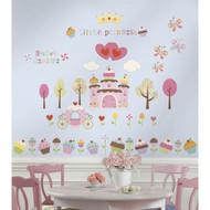 Wall Decal Roommates Happi Cupcake Land Peel & Stick