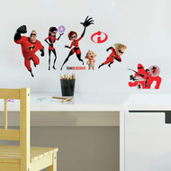Wall Decal Disney Incredibles 2 Peel/Stick
