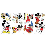 Wall Decal Mickey Mouse The True Original 90Th Anniversary Peel/Stick